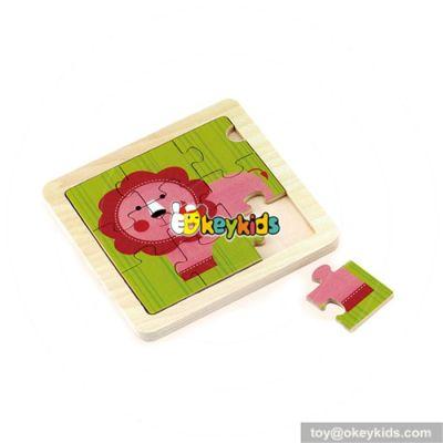 wholesale top sale wooden kids puzzle toy hottest children puzzle wooden kids toy W14C064
