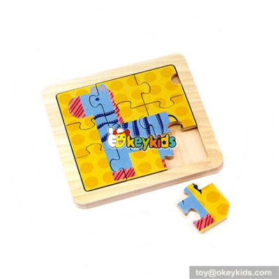 wholesale modern wooden animal puzzle games toy  best selling wooden animal puzzle toy W14C067