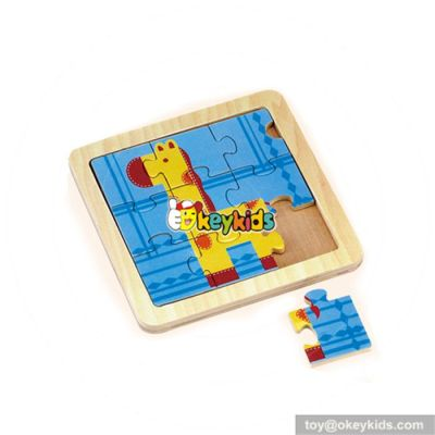 wholesale fashion kids wooden puzzle board best sale wooden puzzle board W14B069