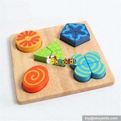 wholesale elegant in styles kids wooden shape puzzle toy cute wooden shape toy wooden puzzle toy for fun W14A062