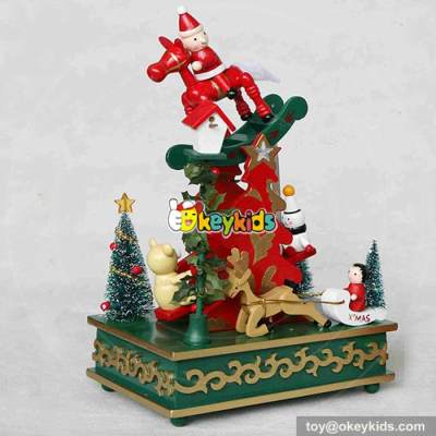 wholesale best kids christmas gifts wooden music boxes for sale W07B013A