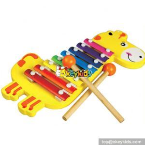 wholesale kids wooden rainbow xylophone fashion baby wooden rainbow xylophone children wooden rainbow xylophone W07C030