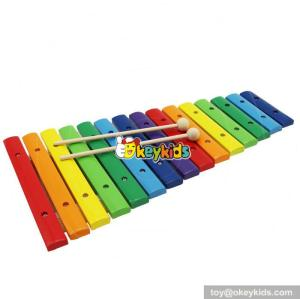 new design baby wooden lovely xylophone music toy W07C045