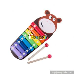 wholesale wooden xylophone for children educational wooden xylophone for children W07C055