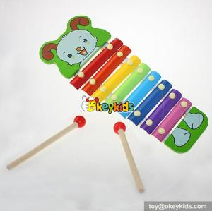 wholesale children wooden instrument music high quality wooden instrument music Multifunction instrument music W07C034