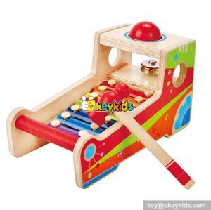 wholesale fashion kids wooden make sound toy popular children wooden make sound toy W07C037