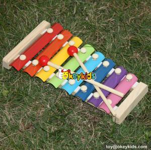 best sale kids wooden toy xylophone most popular children's wooden toy xylophone W07C040