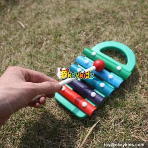 wholesale educational wooden kids toys xylophone funny wooden kids toys xylophone W07C043