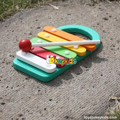 wholesale baby wooden lovely xylophone music toy educational kids wooden lovely xylophone music toy W07C044