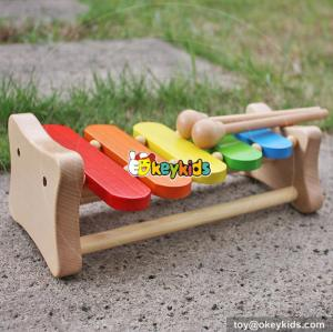 wholesale kids wooden toy xylophone top fashion baby wooden toy xylophone children wooden toy xylophone W07C048