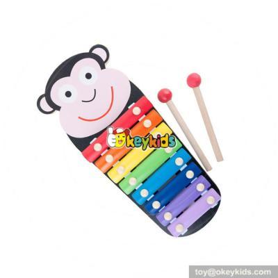 wholesale wooden monkey xylophone toy fashioned wooden monkey xylophone toy W07C052