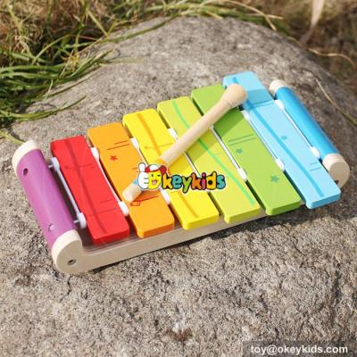 Wholesale best kids toy xylophone wooden percussion toy for sale W07C056