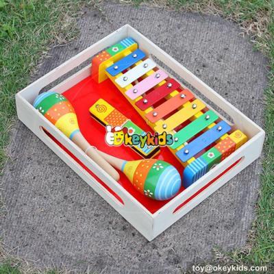 hot slae kids educational wooden music instrument W07A005