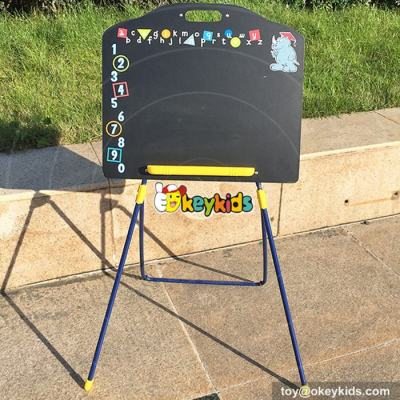 wholesale cheap cartoon portable wooden drawing board for kids W12B089