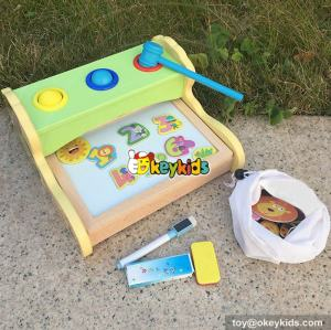 wholesale multi educational wooden magnetic drawing toy for children W12B092