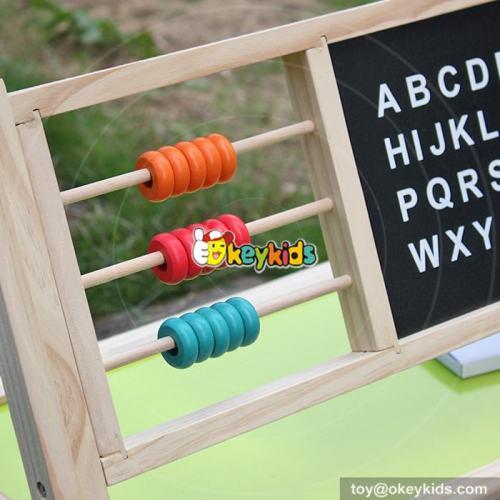 Okeykids Best Design Double-Sided Educational Wooden Magnetic Kids Writing Board W12B103