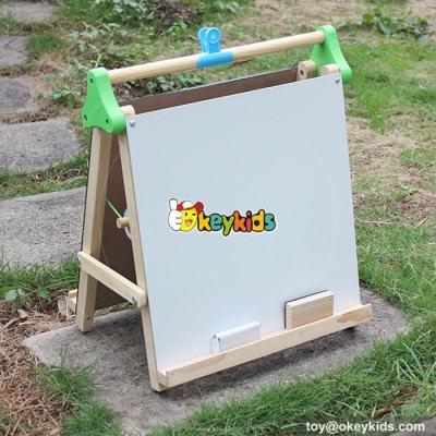Best Design Double-Sided kids children Wooden tabletop drawing board W12B105