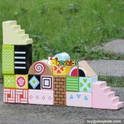 wholesale 20 pieces children wooden blocks lovely children wooden blocks most popular children wooden blocks W13A125