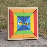 wholesale new 18 pieces kids wooden blocks funny kids wooden blocks intelligence kids wooden blocks W13A129