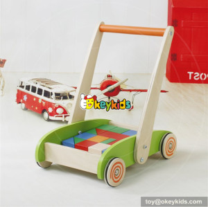 new design wooden baby walkers for boys hot sale wooden baby walkers W16E066
