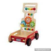 Wholesale new product wooden kids walker multi-function wooden kids walker W16E079