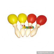 Wholesale mini maracas wooden toys for kids top fashion wooden toys for kids W07I067