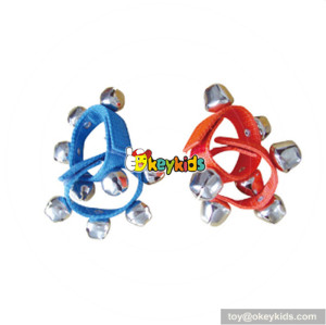 Wholesale musical instruments baby shaking wrist bell top fashion christams kids wrist bell for sale W07I100