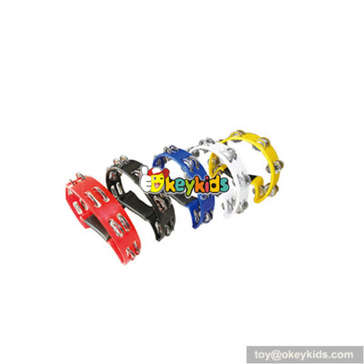 Wholesale musical hand tambourine baby percussion instruments hot sale children percussion instruments W07I104