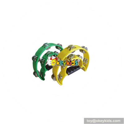 Wholesale baby musical instrument plastic tambourine headless best kids toy tambourine headless W07I105