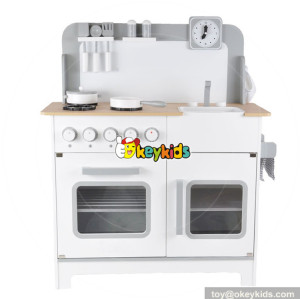 wholesale new design children educational toy wooden kitchen W10C278