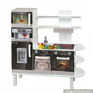 wholesale new design educational wooden boys kitchen for kids W10C284
