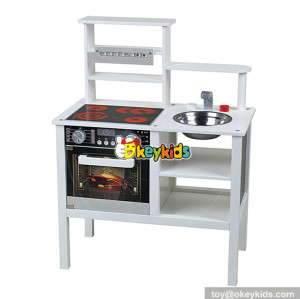 wholesale most popular children educational toys wooden kids kitchen play set new style wooden kids kitchen play set W10C287