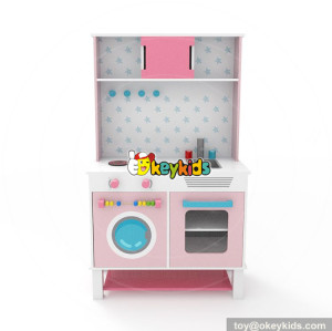 Wholesale beautiful style wooden kitchen sets toy new product kids wooden kitchen sets toy W10C316