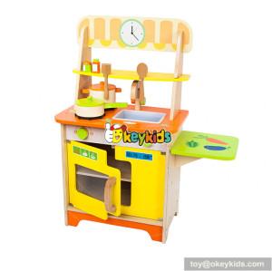 Wholesale beautiful children wooden kitchen toy funny kids wooden kitchen toy W10C314