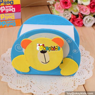 wholesale most popular wooden children bear piggy bank for sale W02A021
