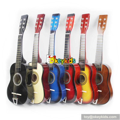 wholesale unique fashion wooden guitar for kids W07H024
