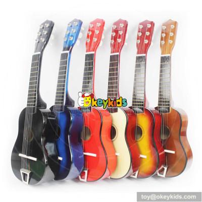 wholesale europe unique style wooden children's guitar W07H025
