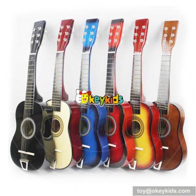 wholesale unique wooden kid's guitar newly wooden kid's guitar W07H026