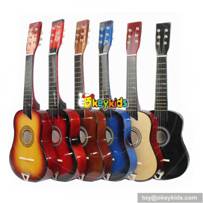 wholesale newly fashioned wooden 25 inches guitar for sale W07H027