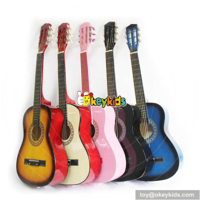 wholesale hottest sale wooden guitar 34 inches for children W07H029