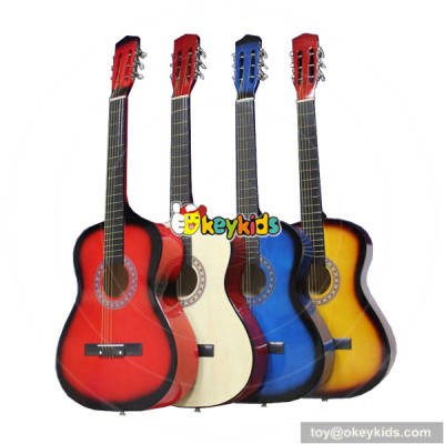 wholesale unique newly style wooden guitar for play W07H030