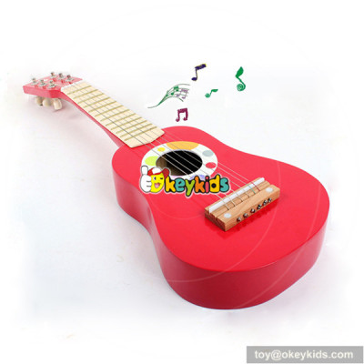 wholesale colorful musical instrument wooden guitar for sale with cheap price W07H037