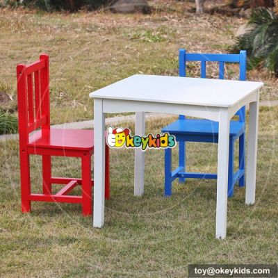 Wholesale high quality wooden kids table and chairs W08G223