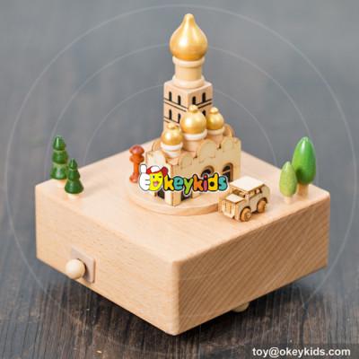 best sale children wooden music box gift for sale W07B044