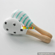 most popular musical early learning wooden sand ball toy W07I128