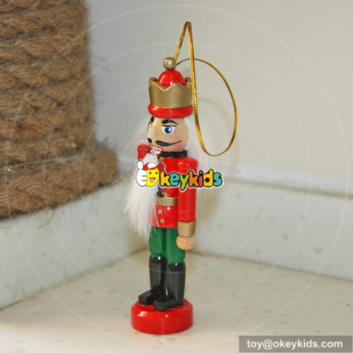 wholesale most popular baby wooden colorful custom nutcracker W02A006A