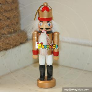wholesale new fashion kids wooden santa nutcracker W02A006B