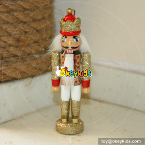 Wholesale top quality wooden nutcracker gifts toy for children W02A006C