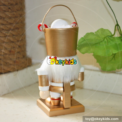wholesale most popular wooden baby nutcracker craft for sale W02A009B