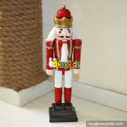 wholesale high quality wooden toys children like large christmas nutcrackers W02A010A